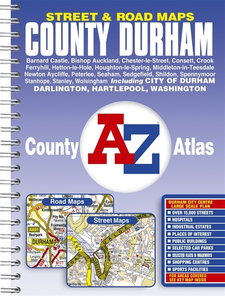 Durhamroad Maps Uk Overseas Road Atlasa Z Maps Street Atlas