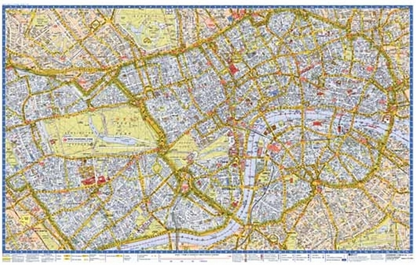 Map of LondonTourist Maps   Tour City & Street MapsA Z Maps