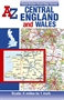 Central England and Wales Road Map