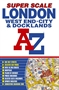 London and Docklands Super Scale Street Atlas