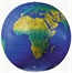 Inflatable Physical World Globe 27 inch