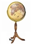 The Hanover Illuminated Brass Globe