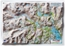 Ambleside & Langdales Small Relief Map Unframed