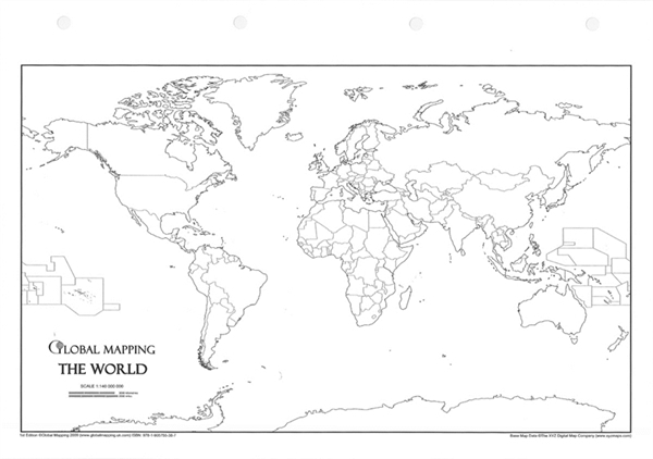 Physical And Political Maps Kids Of India Kid World Citizen - World political map blank a4 size pdf
