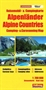 The Alps Camping and Caravanning Map