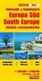 South Europe Camping and Caravanning Map