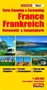 France Camping and Caravanning Map