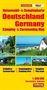 Germany Camping and Caravanning Map