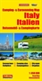 Italy Camping and Caravanning Map