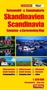 South Scandinavia Camping and Caravanning Map