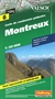 Montreux Hiking Map