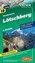 Lötschberg Hiking Map