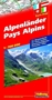 Alpine Countries Road Map