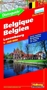 Belgium and Luxembourg Road Map with Distoguide