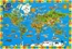 Our Amazing World Children's Map