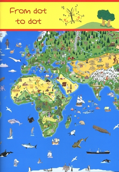 Illustrated childrens world join the dots book childrens gift illustrated childrens world join the dots book childrens gift ideas kruger and schonhoff maps atlas travel guides mapsonline gumiabroncs Choice Image