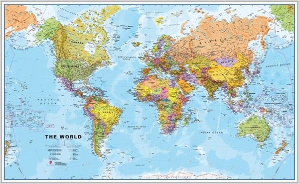 Maps internationalframed maps wall map posters large framed maps internationalframed maps wall map posters large framed maps of the world maps international maps atlas travel guides gumiabroncs Gallery