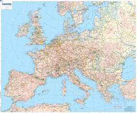 5705 - Europe - Country - Wall Maps & PostersMichelin Maps ...