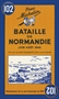 Battle of Normandy Historical Map