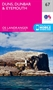 Ordnance Survey Landranger 67 ~ Duns, Dunbar & Eyemouth (Folded Paper Map)