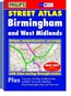 Birmingham and West Midlands Street and City Atlas
