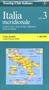 Southern Italy Route Map